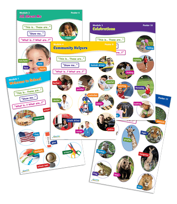Classroom Poster Kit (1 Set of 20 Posters)