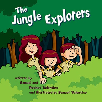 The Jungle Explorers: Softcover